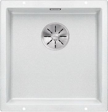 Кухонная мойка Blanco SUBLINE 400-U SILGRANIT белый с отв.арм. InFino 523426