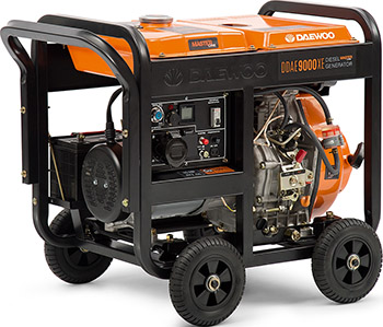 Электрический генератор и электростанция Daewoo Power Products DDAE 9000 XE блок автоматики daewoo power products ats 15 ddae dse