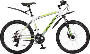 Велосипед Stinger 26'' Aragon 18'' белый 26 SHD.ARAGON.18 WH7 велосипед stinger 26 versus 18 оранжевый 26 sfv versu 18 or5
