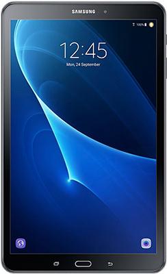 Планшет Samsung Tab A 10.1 WiFi SM-T 580 черный планшет samsung galaxy tab a 10 1 sm t580 16gb wifi white