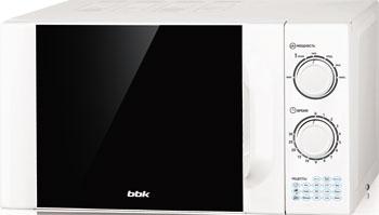 Микроволновая печь - СВЧ BBK 23 MWS-927 M/W белый цена и фото