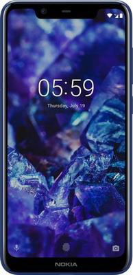 Смартфон Nokia 5.1 Plus Dual Sim синий