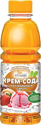 цена на Сироп для приготовления газированной воды O!range Крем-Сода 0 5 SYR-05 KRE