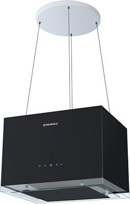 Вытяжка MAUNFELD BOX ROPE (ISLA) 50 Черное стекло akpo wk 4 kastos eco 50 черное стекло