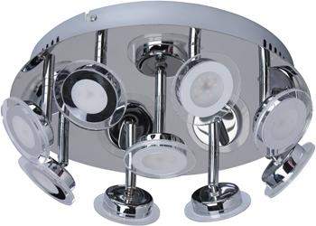 Люстра потолочная DeMarkt Граффити 678010209 9*5W LED 220 V резистор kiwame 5w 9 1 ohm