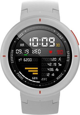 Часы Xiaomi Amazfit Verge белый умные часы amazfit verge black