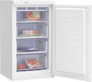 Морозильник NordFrost DF 161 WAP белый