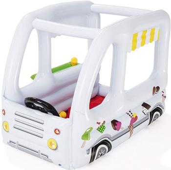 Игровой центр BestWay Фургон с 10 шариками 122х84х84см от 2 лет 52268 BW цена