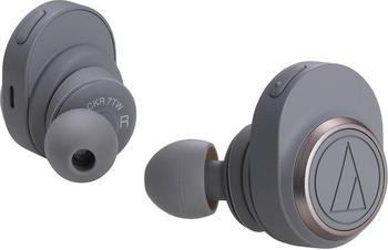 Вставные наушники Audio-Technica ATH-CKR7TWGY серые наушники audio technica ath sport2 rd вставные