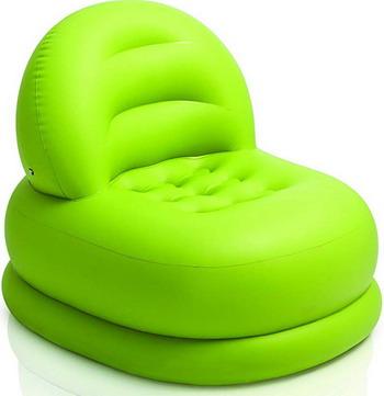 Кресло надувное Intex Mode Chair 68592 салатовый цена