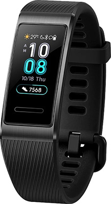 Браслет Huawei Band 3 Pro черный все цены