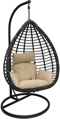 Подвесное кресло Leset EAGLE BLACK МИ 1182 Черный flyingrattan кресло подвесное galaxy