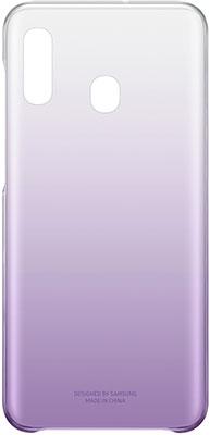 Чехол (клип-кейс) Samsung A 20 (A 205) GradationCover violet EF-AA 205 CVEGRU цена и фото