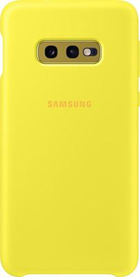 Чехол (клип-кейс) Samsung S 10 e (G 970) SiliconeCover yellow EF-PG 970 TYEGRU чехол клип кейс samsung s 10 g 975 siliconecover pink ef pg 975 thegru