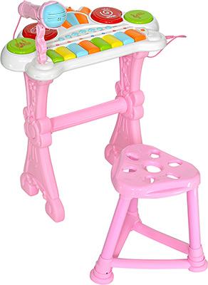 Интерактивная и развивающая игрушка Everflo Оркестр розовый HS 0356832 ПП100004258 интерактивная игрушка everflo auto x5 от 1 года красный 0567913