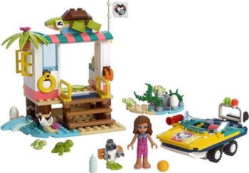 цены на Конструктор Lego Friends 41376 Спасение черепах  в интернет-магазинах