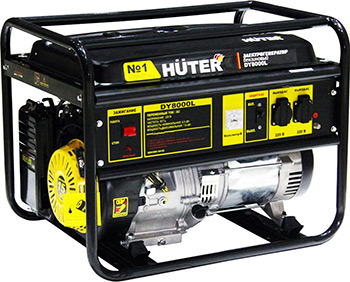 Электрический генератор и электростанция Huter DY8000L 64/1/33 недорго, оригинальная цена