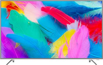 4K (UHD) телевизор Hyundai H-LED55EU7001 стальной