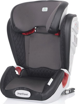 Автокресло Smart Travel Expert FIX Smoky 3-12 лет 15-36 кг группа 2/3 KRES2073 child car safety seat cybex solution m fix sl 2 3 15 36 kg 3 up to 12 years isofix chair baby car seat kidstravel group 2 3