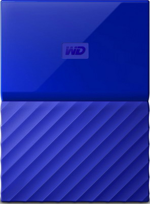 Внешний жесткий диск (HDD) Western Digital Original USB 3.0 4Tb WDBUAX0040BBL-EEUE My Passport (5400rpm) 2.5'' синий