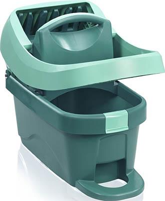 Ведро для мытья полов Leifheit с отжимом Wiper Cover Press Profi (с роликами) 55076