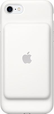 Чехол с аккумулятором Apple Battery Case для iPhone 7 Smart White (белый) MN012ZM/A цена 2017