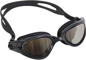 Фото - Очки для плавания Bradex серия ''Комфорт'' черные цвет линзы - зеркальный SF 0387 карр дж черные очки