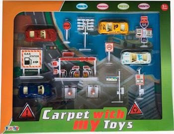 Сюжетно-ролевая игра Fun Toy Набор дорожный с игр. ковриком 44413 дорожный набор magic home