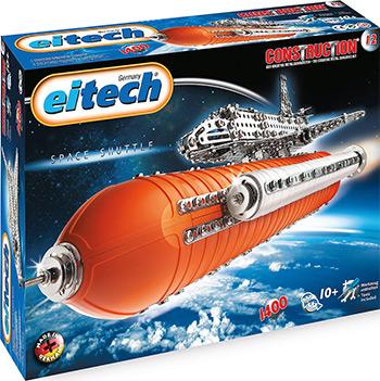 Конструктор Elitech металл.''Космический Шатл''(1400 дет минимум 3 мод.) 00012 конструктор banbao космический летательный аппарат 237 дет red 6407 52940