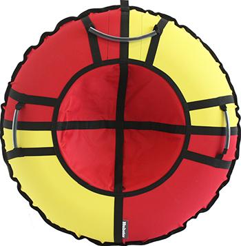 Тюбинг Hubster Хайп красный-желтый 120 см во5572-3