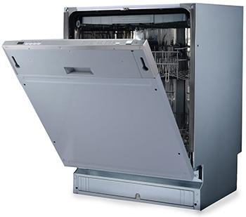 лучшая цена Полновстраиваемая посудомоечная машина Ginzzu DC611