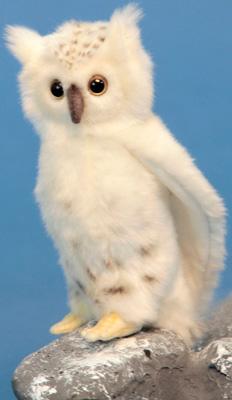Мягкая игрушка Hansa Creation 6155 Сова белая 18 см мягкая игрушка сова hansa сова белая искусственный мех синтепон белый 18 см 6155
