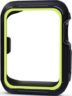 Фото - Чехол спортивный Eva для Apple Watch 38mm Черный/Зеленый (AVC007) защитное стекло skinbox apple watch 38mm