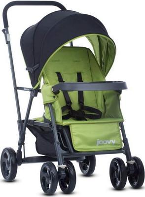 Коляска Joovy CABOOSE Graphite зеленый (для двоих детей) 8148