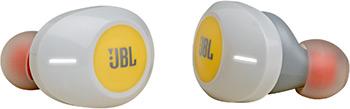 Фото - Вставные наушники JBL T120 TWS YEL вставные наушники jbl t220 tws blu