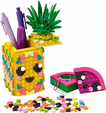 Конструктор Lego DOTS Подставка для карандашей «Ананас» 41906