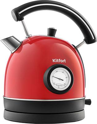 Чайник электрический Kitfort KT-688-1 красный фото