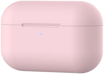 Фото - Чехол силиконовый Eva для наушников Apple AirPods Pro - розовый (CBAP303P) браслет розовый кварц 17 см биж сплав