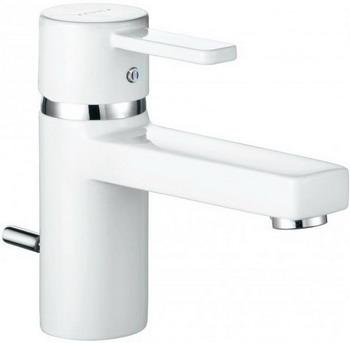 Смеситель для ванной комнаты Kludi ZENTA для раковины белый/хром  арт. 382509175