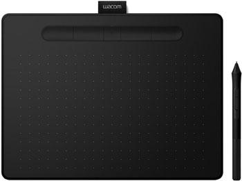 Графический планшет Wacom Intuos S Bluetooth (CTL-4100WLK-N) черный перо wacom pen 2k lp 190k для intuos