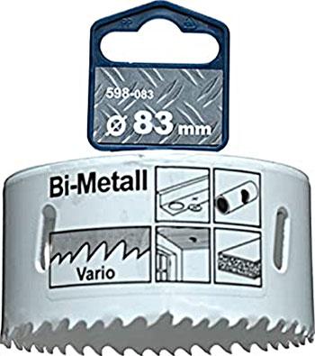 Коронка Kwb HSS BI-METALL 83 мм 598-083 коронка для металла matrix bi metall d67 мм 72467