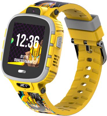 Наручный смарт-браслет JET KID Transformers (Bumblebee)