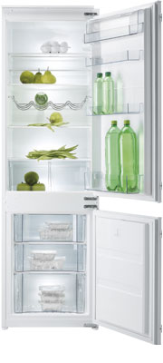 лучшая цена Встраиваемый двухкамерный холодильник Korting KSI 17850 CF