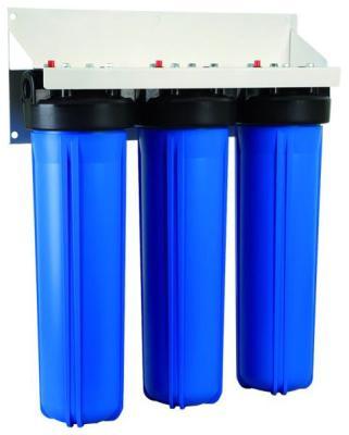 Магистральная система Гейзер 3И20 BB (без картриджей) трехступенчатый фильтр гейзер 3и20