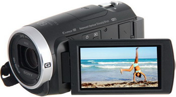 лучшая цена Цифровая видеокамера Sony HDR-CX 625 черный