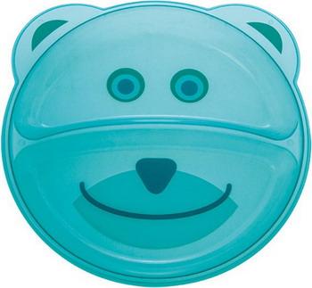 Тарелка с разделением Canpol babies Animals 74/005 мишка бирюзовая wizfi210 rf if and rfid mr li