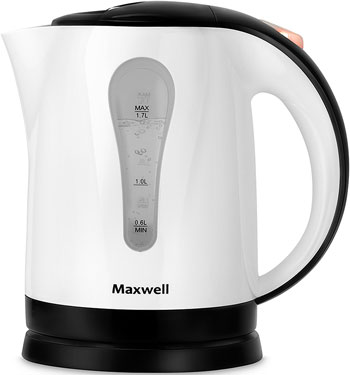 Чайник электрический Maxwell MW-1079 чайник электрический maxwell mw 1083 стекло