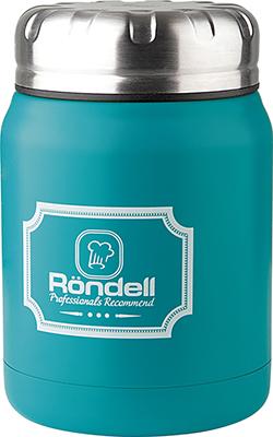 Термос для еды Rondell Turquoise Picnic RDS-944 0 5 л термос 0 5 л rondell platinum rds 1066