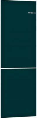 Навесная панель на двухкамерный холодильник Bosch VarioStyle KGN 39 IJ 3 AR со сменной панелью Цвет: Морская волна навесная панель на двухкамерный холодильник bosch variostyle цвет жемчужно белый