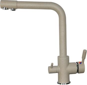 Кухонный смеситель Zigmund & Shtain 1300 речной песок кухонный смеситель zigmund amp shtain 1200 l речной песок